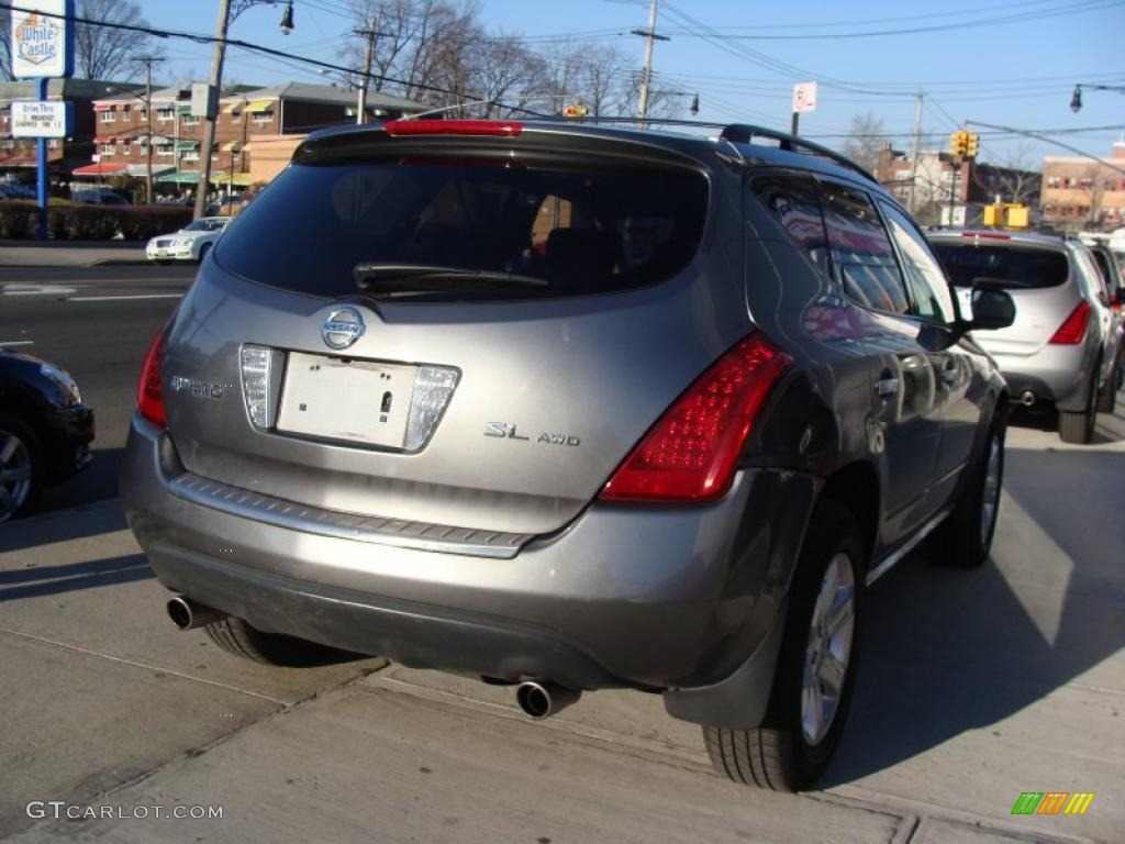 2007 Murano SL AWD - Brilliant Silver Metallic / Charcoal photo #4
