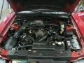 2001 Laser Red Metallic Ford Mustang GT Convertible  photo #24