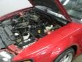 2001 Laser Red Metallic Ford Mustang GT Convertible  photo #25