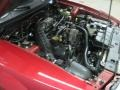 2001 Laser Red Metallic Ford Mustang GT Convertible  photo #26