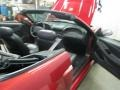 2001 Laser Red Metallic Ford Mustang GT Convertible  photo #33
