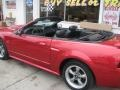 2001 Laser Red Metallic Ford Mustang GT Convertible  photo #53