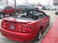2001 Laser Red Metallic Ford Mustang GT Convertible  photo #56