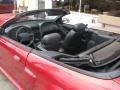 2001 Laser Red Metallic Ford Mustang GT Convertible  photo #57