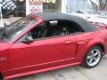 2001 Laser Red Metallic Ford Mustang GT Convertible  photo #58