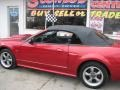 2001 Laser Red Metallic Ford Mustang GT Convertible  photo #60