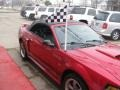 2001 Laser Red Metallic Ford Mustang GT Convertible  photo #63