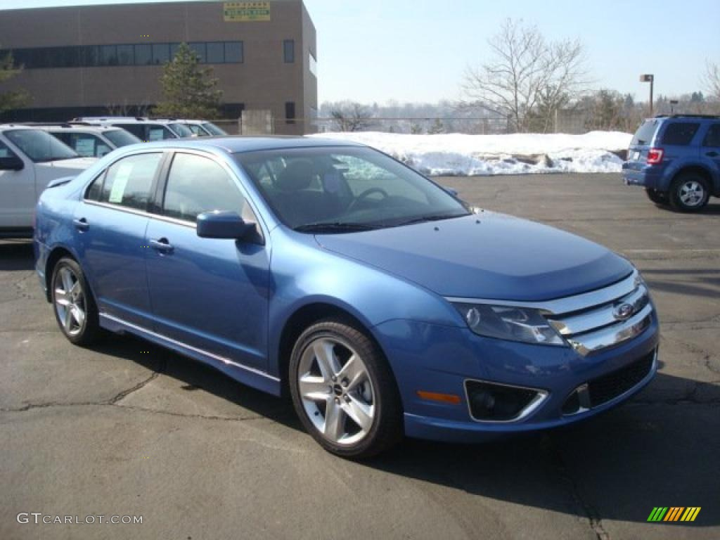 2010 Sport Blue Metallic Ford Fusion Sport 26832108