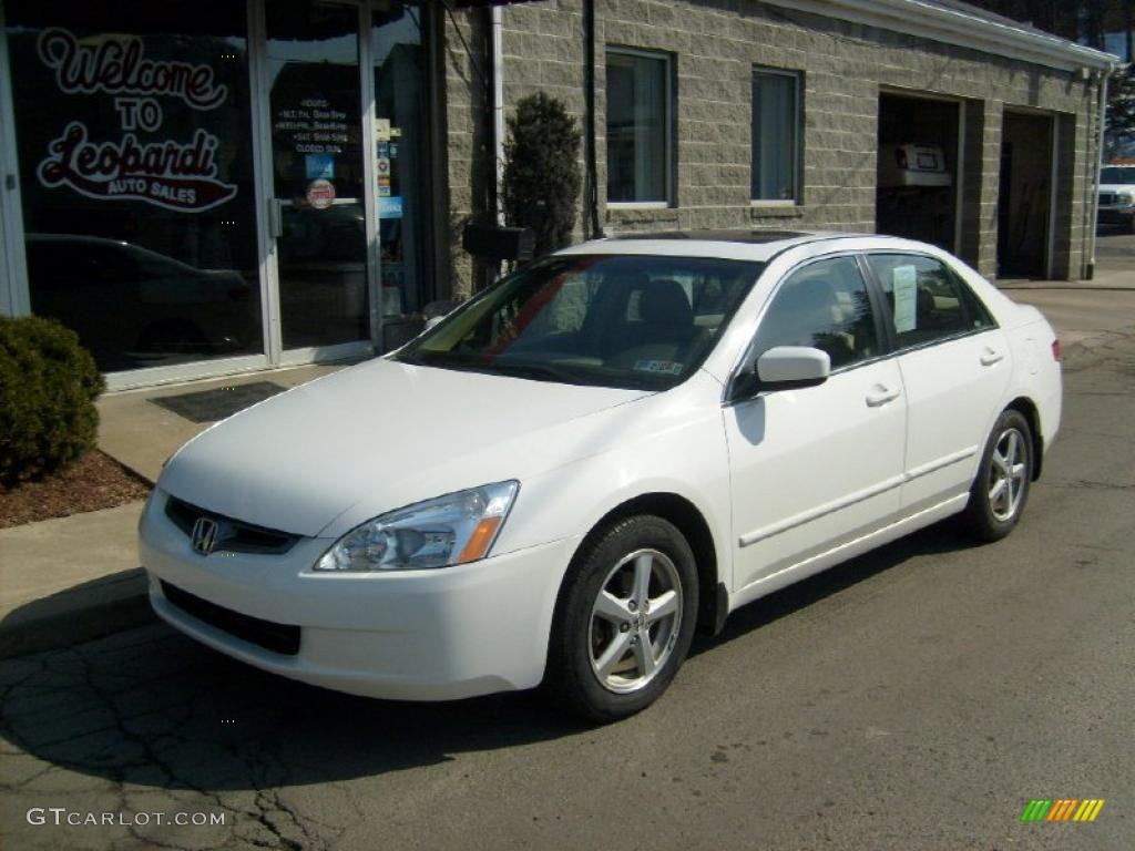 2004 Taffeta White Honda Accord Ex L Sedan 26832327
