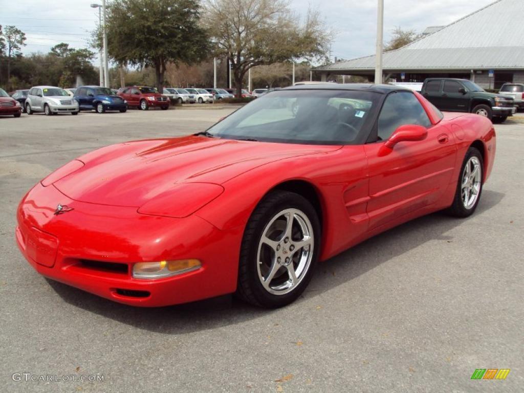 2004 Torch Red Chevrolet Corvette Coupe #26832532 | GTCarLot.com ...