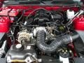 2007 Torch Red Ford Mustang V6 Premium Coupe  photo #23