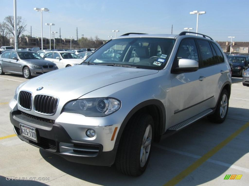 2007 titanium silver metallic bmw x5 26881781 car color galleries. Black Bedroom Furniture Sets. Home Design Ideas