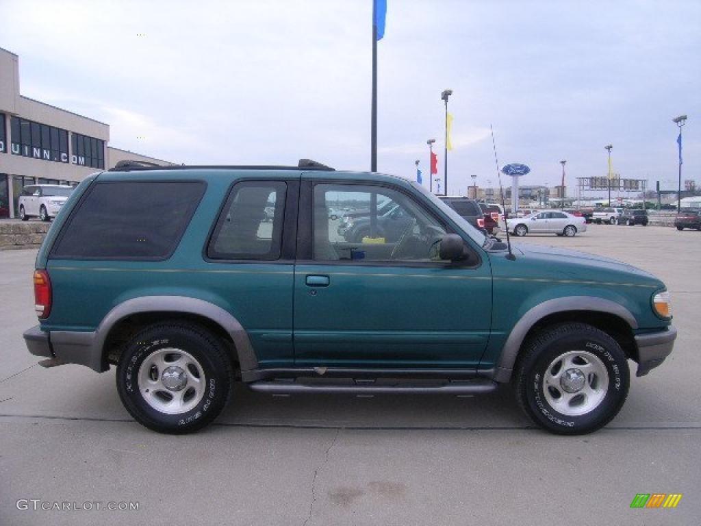 1998 pacific green metallic ford explorer sport 4x4. Black Bedroom Furniture Sets. Home Design Ideas