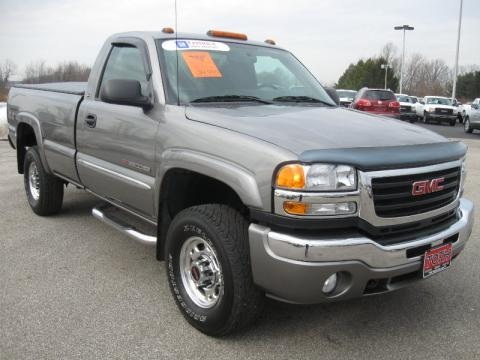 2006 gmc sierra 2500hd sl regular cab data info and specs. Black Bedroom Furniture Sets. Home Design Ideas