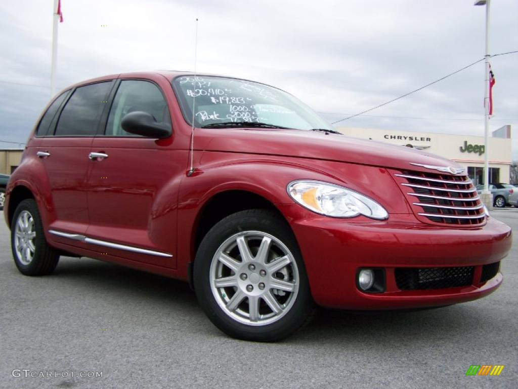 2010 Inferno Red Crystal Pearl Chrysler Pt Cruiser Classic 26935266 Gtcarlot Com Car Color
