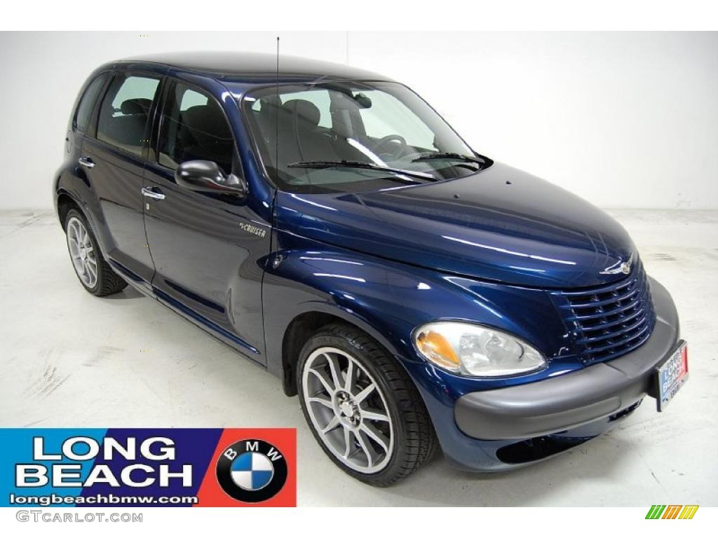 2003 patriot blue pearl chrysler pt cruiser 26935550. Black Bedroom Furniture Sets. Home Design Ideas