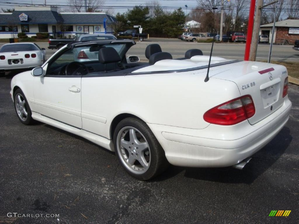 2002 alabaster white mercedes benz clk 55 amg cabriolet for Mercedes benz clk 2002