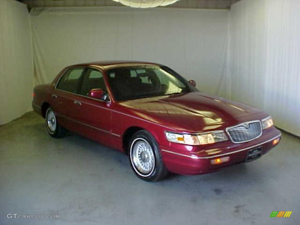1995 Mercury Grand Marquis >> 1995 Electric Red Metallic Mercury Grand Marquis Ls 26935747