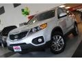 2011 Bright Silver Kia Sorento EX AWD  photo #2