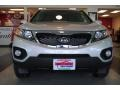 2011 Bright Silver Kia Sorento EX AWD  photo #12