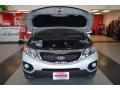 2011 Bright Silver Kia Sorento EX AWD  photo #23