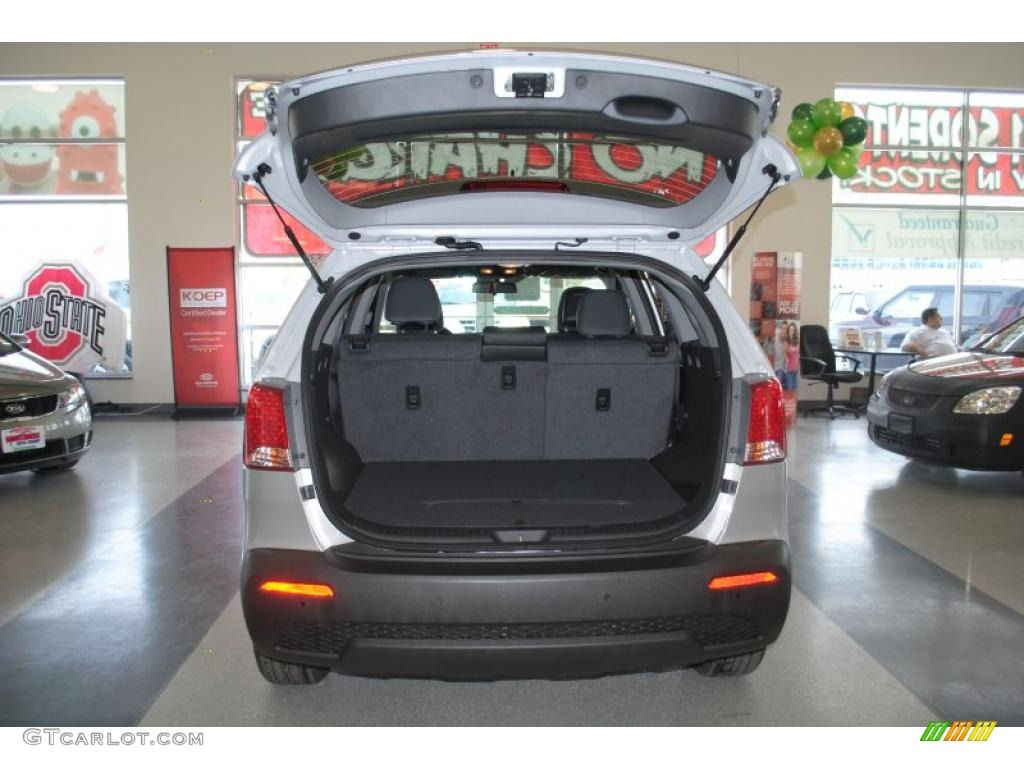 2011 Sorento EX AWD - Bright Silver / Black photo #27