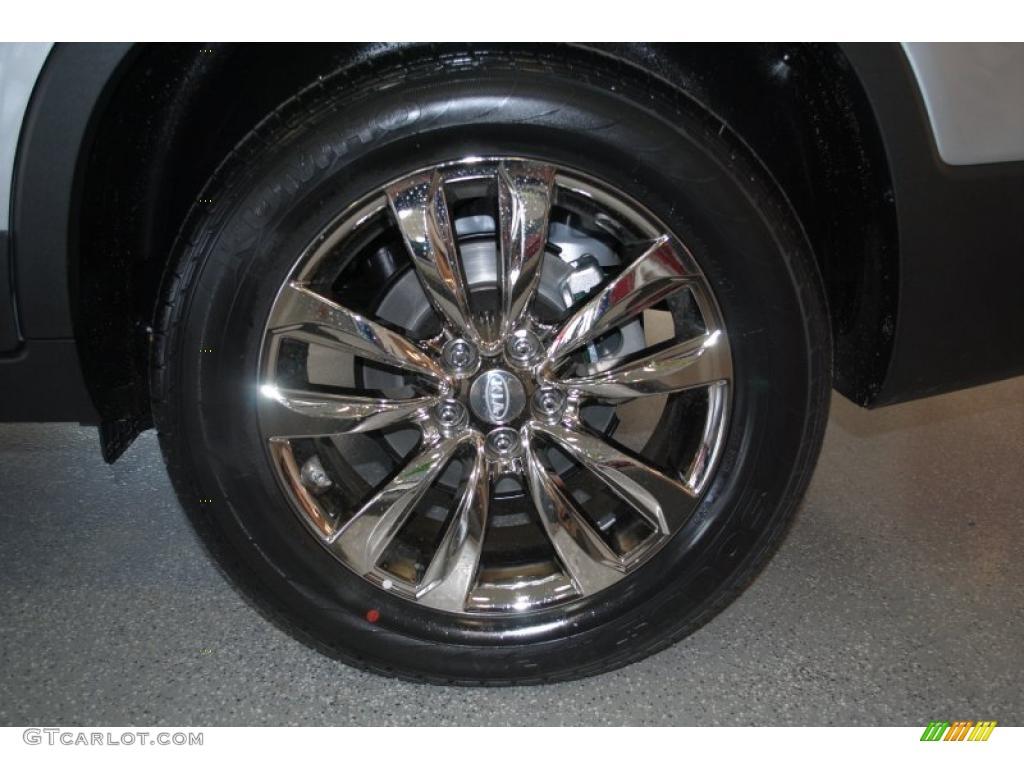 2011 Sorento EX AWD - Bright Silver / Black photo #30