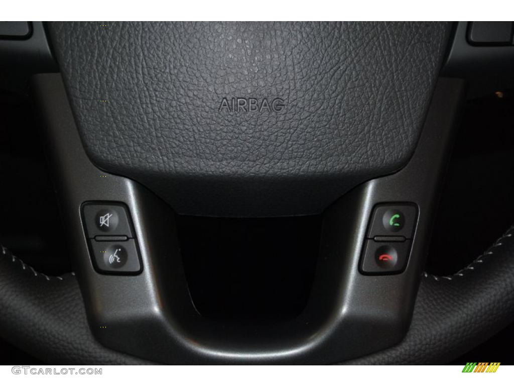 2011 Sorento EX AWD - Bright Silver / Black photo #35