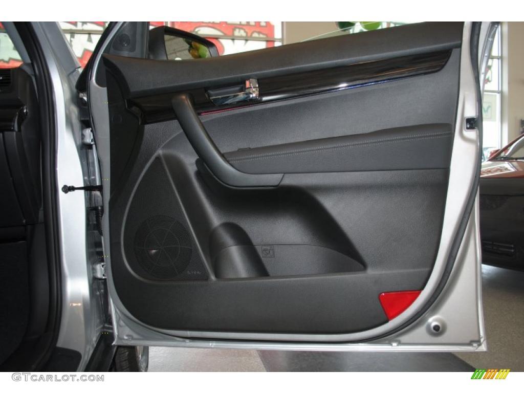 2011 Sorento EX AWD - Bright Silver / Black photo #52