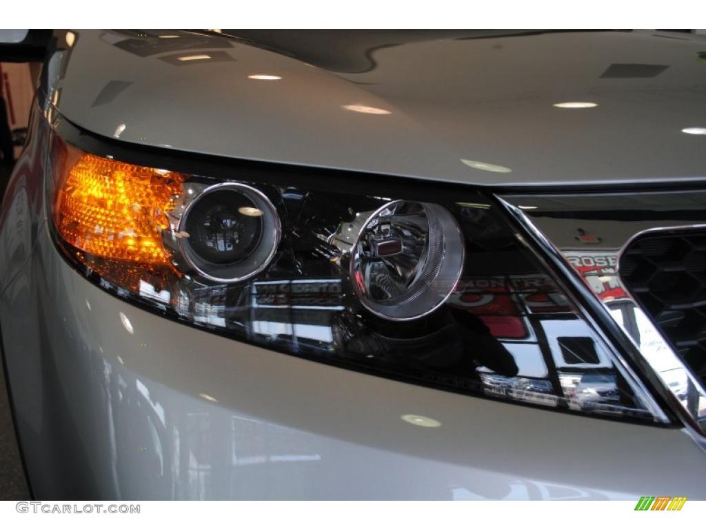 2011 Sorento EX AWD - Bright Silver / Black photo #53