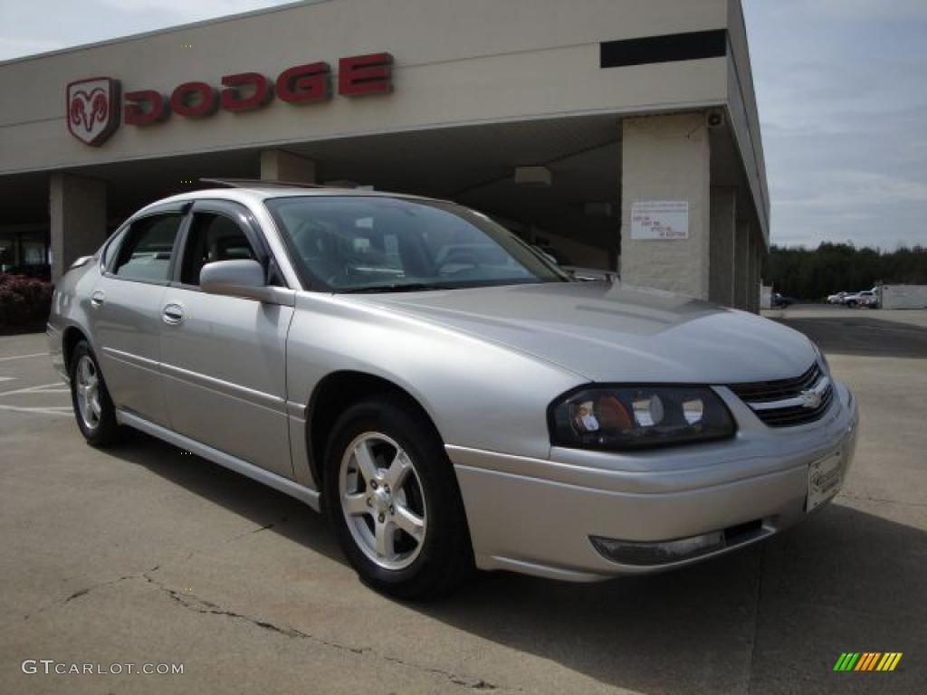 2005 silverstone metallic chevrolet impala ls 26935758. Black Bedroom Furniture Sets. Home Design Ideas