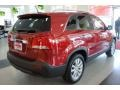 2011 Spicy Red Kia Sorento EX AWD  photo #7