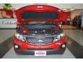 2011 Spicy Red Kia Sorento EX AWD  photo #22