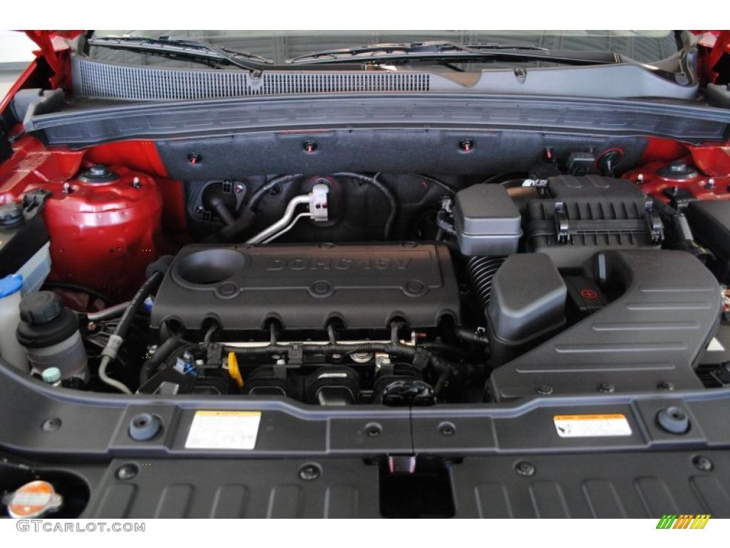 2011 Sorento EX AWD - Spicy Red / Beige photo #23