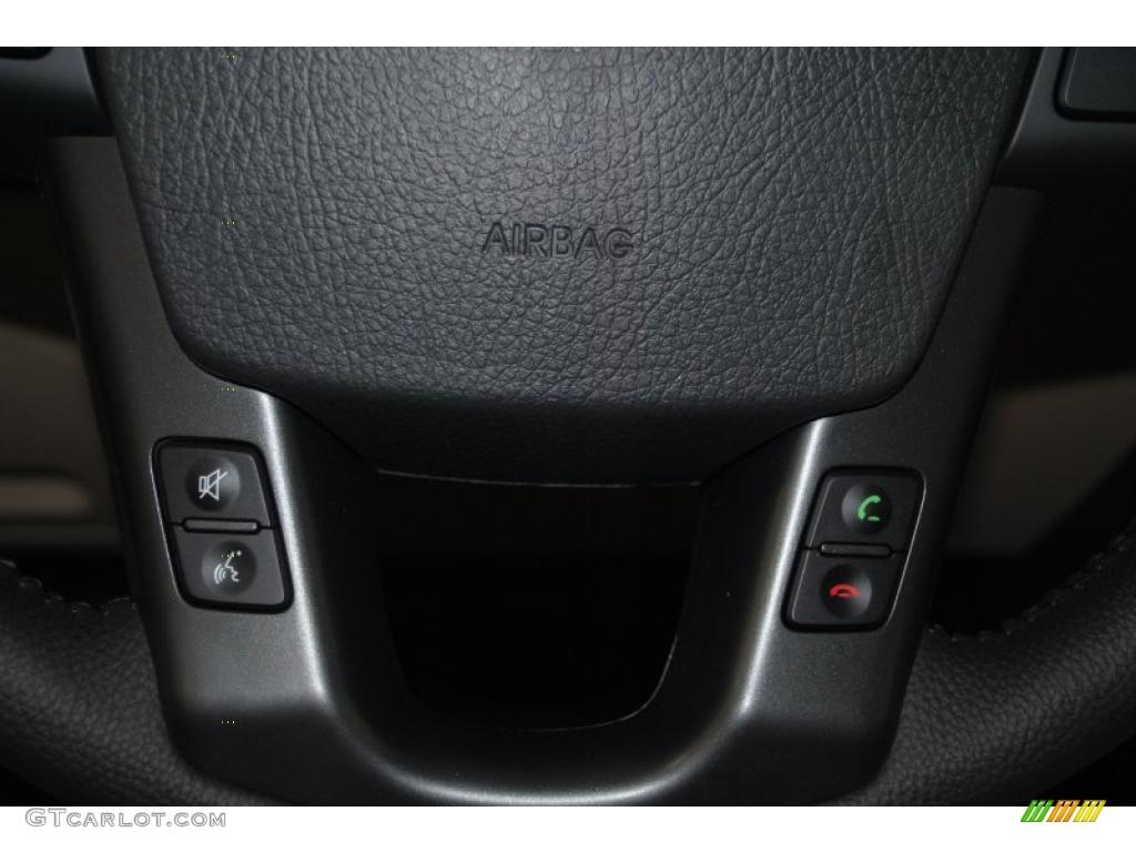 2011 Sorento EX AWD - Spicy Red / Beige photo #33