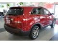 2011 Spicy Red Kia Sorento EX  photo #7