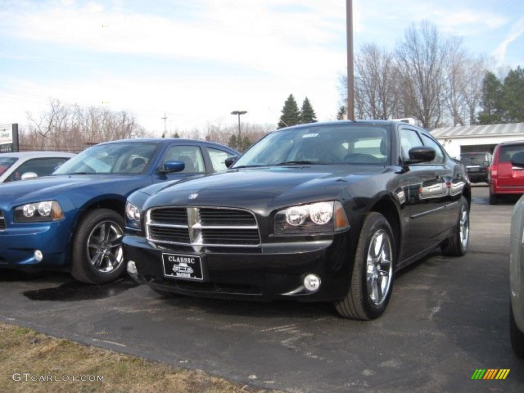 Brilliant black crystal pearl dodge charger