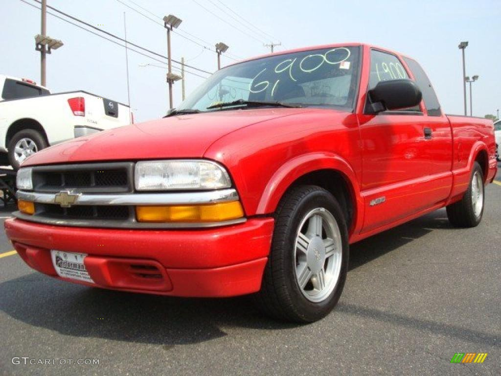2000 victory red chevrolet s10 ls extended cab 26935473 car color galleries. Black Bedroom Furniture Sets. Home Design Ideas