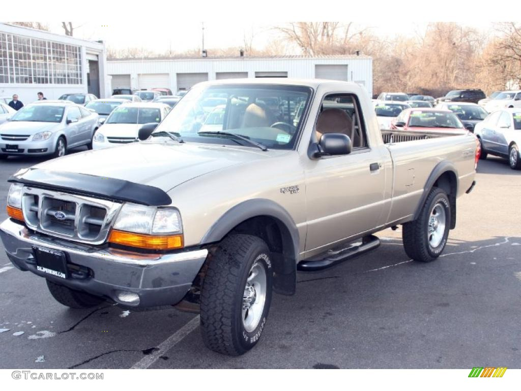 2002 Harvest Gold Metallic Ford Ranger XLT SuperCab ...