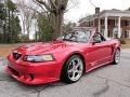 2000 Laser Red Metallic Ford Mustang Saleen S281 Speedster  photo #2
