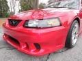 2000 Laser Red Metallic Ford Mustang Saleen S281 Speedster  photo #16