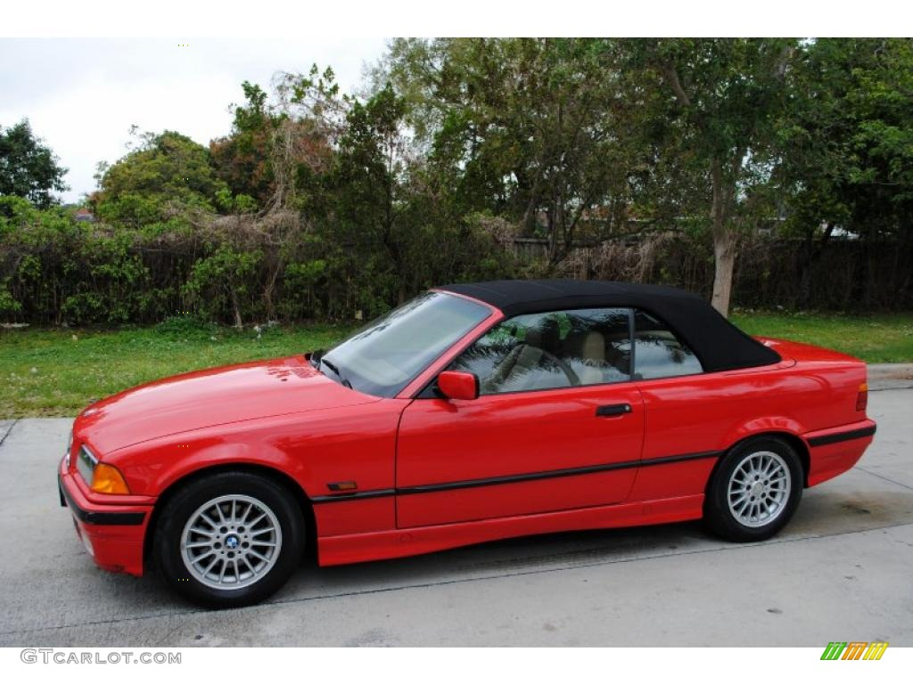 bright red 1996 bmw 3 series 328i convertible exterior photo 27005555. Black Bedroom Furniture Sets. Home Design Ideas