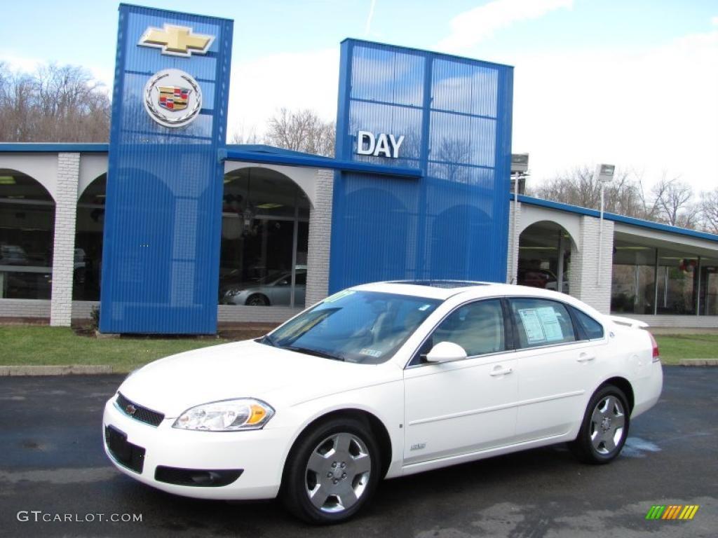 White Chevrolet Impala Ss