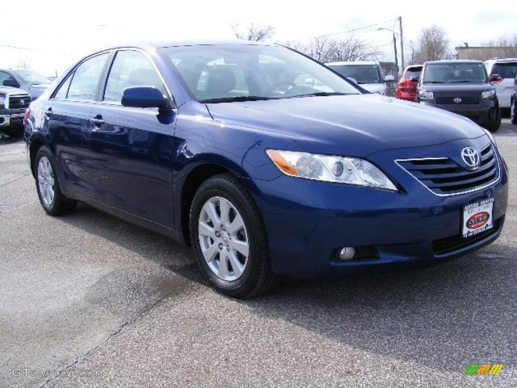2007 Blue Ribbon Metallic Toyota Camry Xle V6 26996441