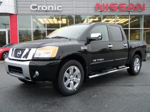 2010 nissan titan le heavy metal chrome edition crew cab. Black Bedroom Furniture Sets. Home Design Ideas