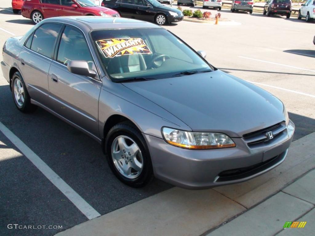 2000 Signet Silver Metallic Honda Accord Ex V6 Sedan 26996972 Car Color Galleries