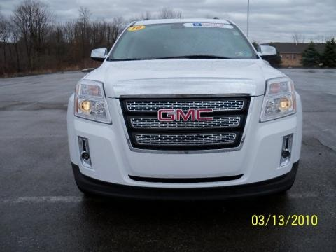 2010 Summit White GMC Terrain SLT AWD