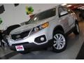 2011 Bright Silver Kia Sorento EX  photo #2