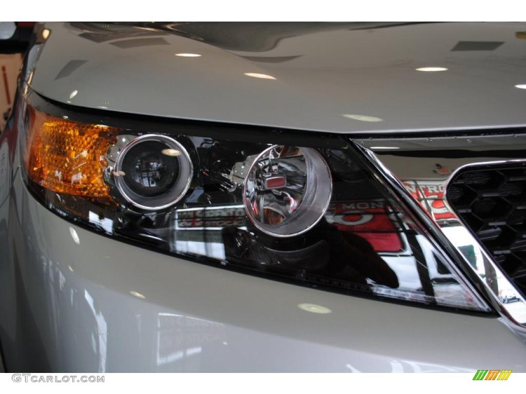 2011 Sorento EX - Bright Silver / Black photo #53