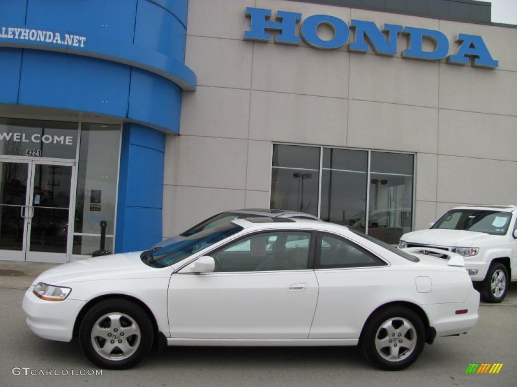 2000 Taffeta White Honda Accord Ex V6 Coupe 27070930